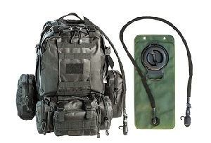 Tactical Military MOLLE Backpack Bundle