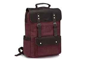 WOMEN VINTAGE BACKPACK MADE OF LEATHER